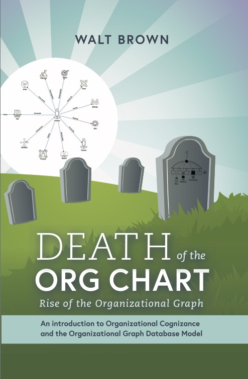 Cover of book Death of the Org Chart rise of the Graph book on how to build an org chart