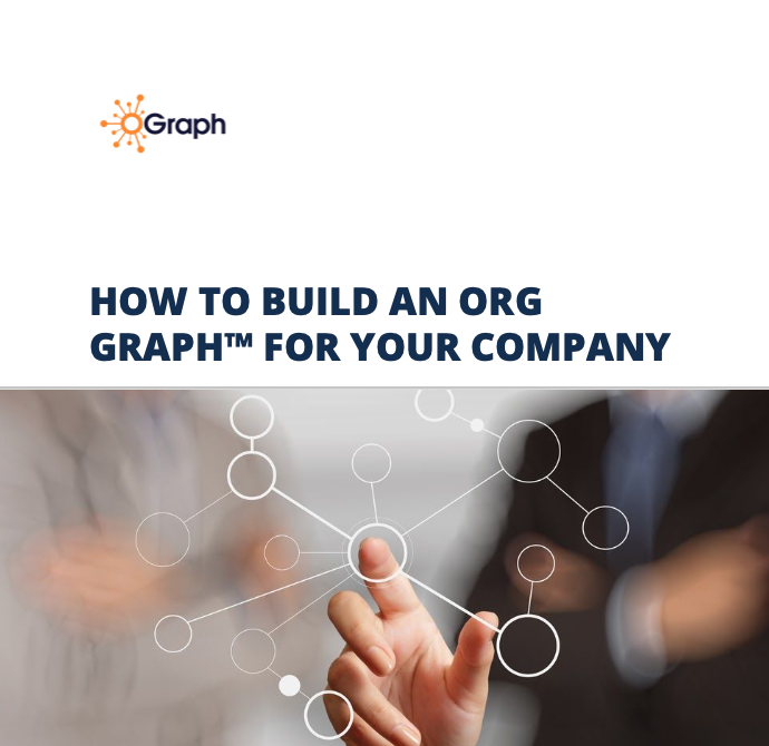 Workbook how to build an Org Graph to replace your Org Chart