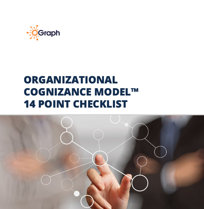 From Org Chart to Org Graph. Workbook on how to answer the 17 Point Checklist to complete your org graph